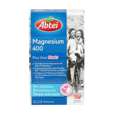 Abtei Magnesium 400+vitamin B Komplex Granulat  bei apolux.de bestellen