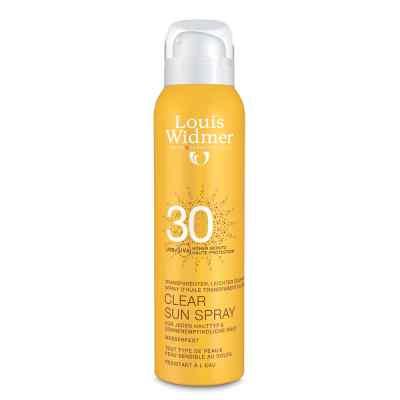 Widmer Clear Sun Spray 30 unparfümiert  bei apolux.de bestellen