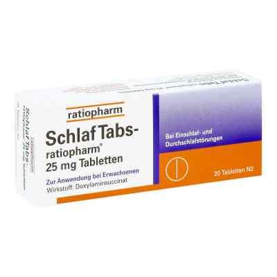 SchlafTabs-ratiopharm 25mg  bei apolux.de bestellen