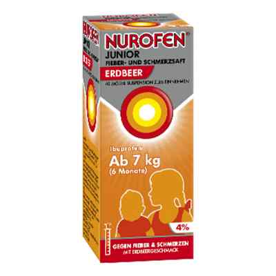 NUROFEN Junior Fieber- & Schmerzsaft Erdbeer  bei apolux.de bestellen
