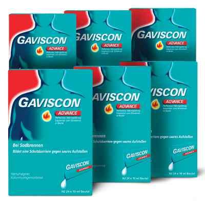 Gaviscon Advance Pfefferminz 1000mg/200mg Dosierbeutel  bei apolux.de bestellen