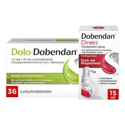 Dolo-Dobendan Set gegen Halsschmerzen  bei apolux.de bestellen