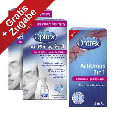 Optrex Actispray 2in1 für trockene+gereizte Augen  bei apolux.de bestellen