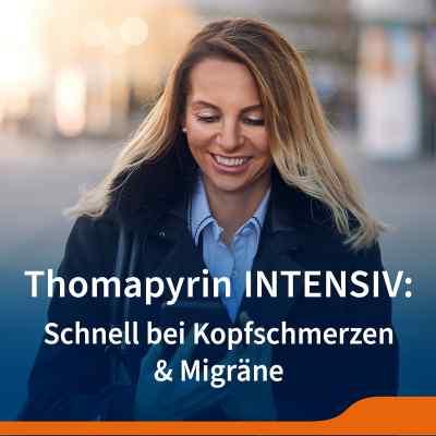 Thomapyrin INTENSIV bei Migräne & Kopfschmerzen Doppelpack  bei apolux.de bestellen
