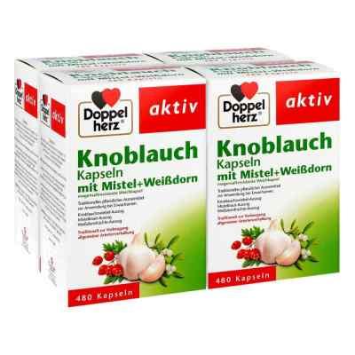 Doppelherz aktiv Knoblauch mit MistelWeißdorn  bei apolux.de bestellen