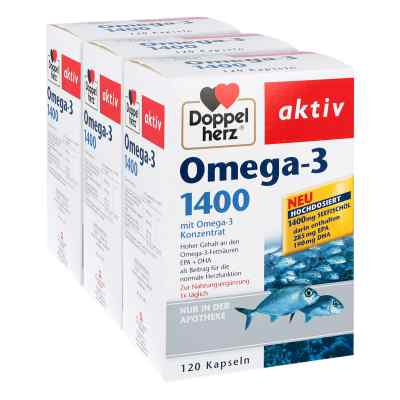 Doppelherz Omega-3 1.400 Kapseln  bei apolux.de bestellen