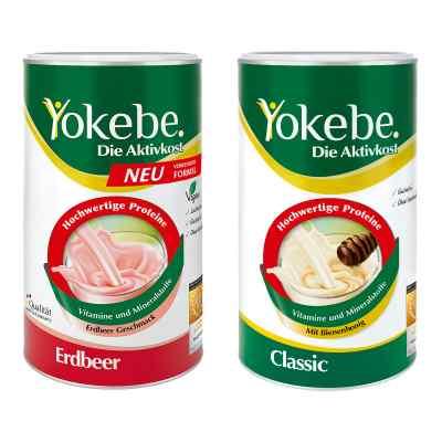 Yokebe Classic & Erdbeer Starterpaket  bei apolux.de bestellen