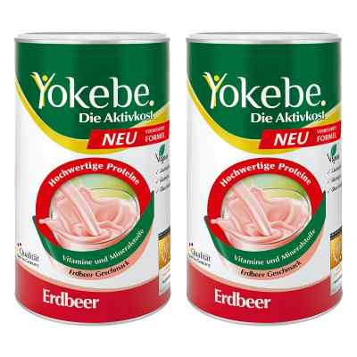 Yokebe Erdbeer Pulver  bei apolux.de bestellen
