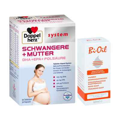 Doppelherz Schwangere  Mütter mit Bi Oil  bei apolux.de bestellen