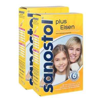 Sanostol plus Eisen Saft und Dosierspender  bei apolux.de bestellen