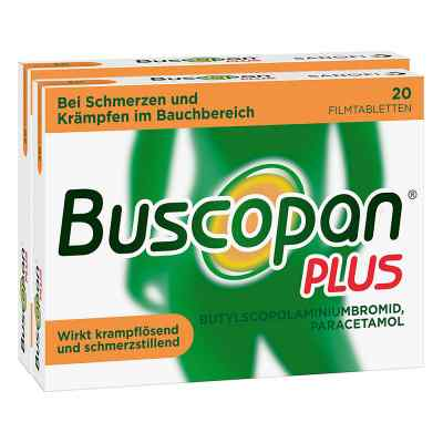 Buscopan PLUS Filmtabletten Doppelpack  bei apolux.de bestellen