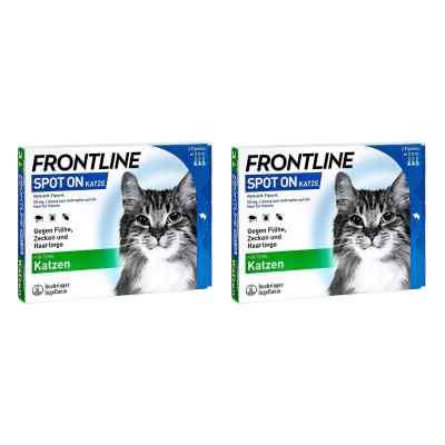 Frontline Spot on Katze veterinär Lösung gegen Floh und Zecke  bei apolux.de bestellen