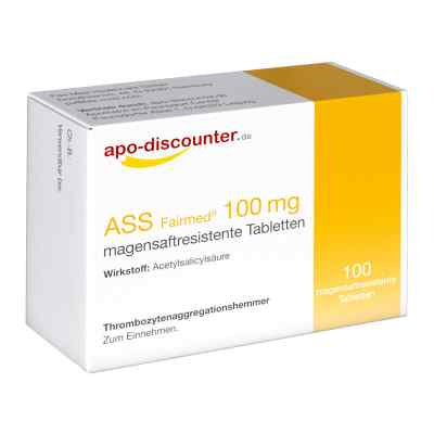 ASS 100mg von apo-discounter  bei apolux.de bestellen