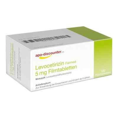 Levocetirizin 5 mg Filmtabletten von apo-discounter - bei Allerg  bei apolux.de bestellen