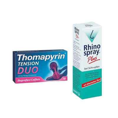 Aktionspaket - Thomapyrin TENSION DUO und Rhinospray Plus  bei apolux.de bestellen
