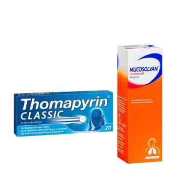 Aktionspaket - Mucosolvan Hustensaft und Thomapyrin CLASSIC  bei apolux.de bestellen