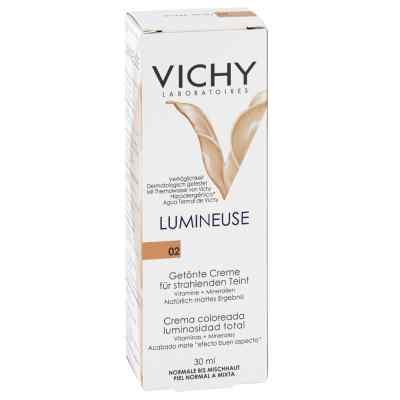 Vichy Lumineuse Mate peche normale/Mischhaut Creme  bei apolux.de bestellen