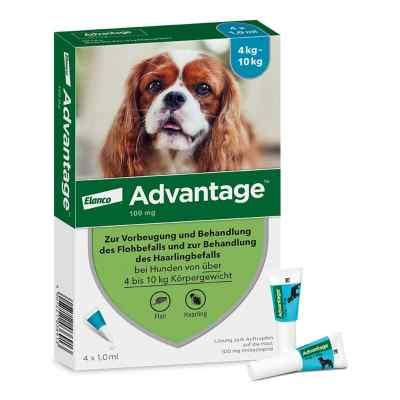 Advantage 100 für Hunde Lösung  bei apolux.de bestellen