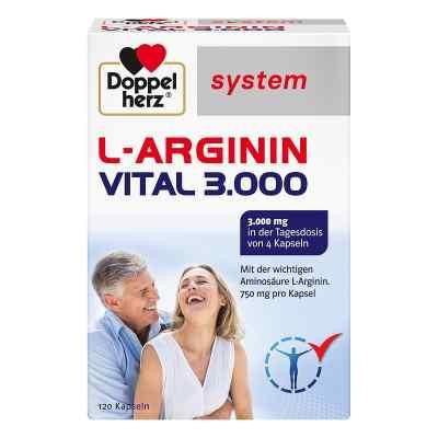 Doppelherz L-arginin Vital 3000 system Kapseln  bei apolux.de bestellen
