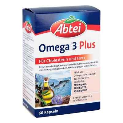 Abtei Omega 3 6 9 Lachsöl+leinöl+oliv.öl Kapseln  bei apolux.de bestellen