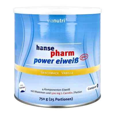 Hansepharm Power Eiweiss plus Vanille Pulver  bei apolux.de bestellen