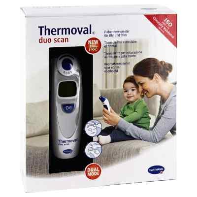 Thermoval duo scan Fieberthermometer für Ohr+Stirn  bei apolux.de bestellen