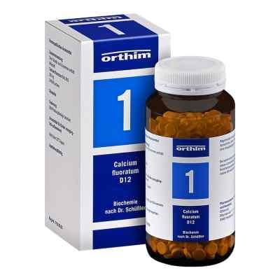 Biochemie Orthim 1 Calcium fluoratum D 12 Tabletten   bei apolux.de bestellen