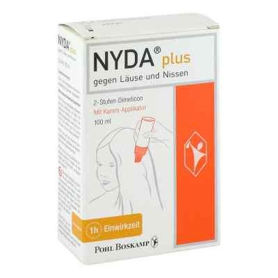 Nyda plus Lösung mit Kamm Applikator  bei apolux.de bestellen