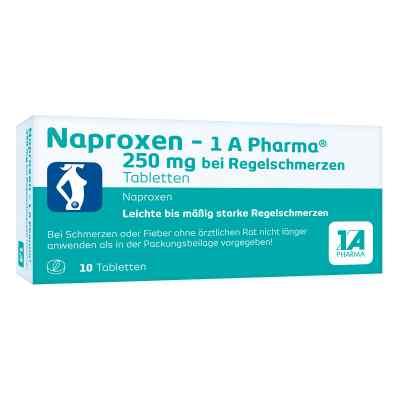 Naproxen-1A Pharma 250mg bei Regelschmerzen  bei apolux.de bestellen