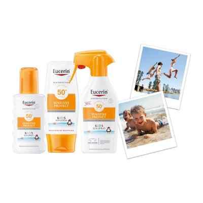Eucerin Sun Sensitive Protect Kids Sun Spray LSF 50+  bei apolux.de bestellen