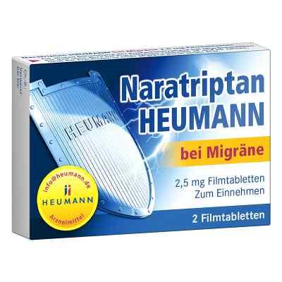 Naratriptan Heumann bei Migräne 2,5mg  bei apolux.de bestellen