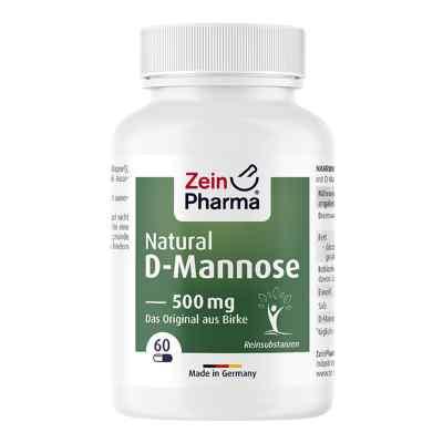 Natural D-mannose 500 mg Kapseln  bei apolux.de bestellen