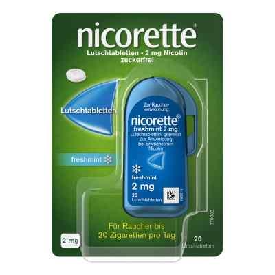 Nicorette freshmint 2 mg Lutschtabletten gepresst  bei apolux.de bestellen