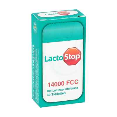 Lactostop 14.000 Fcc Tabletten im Spender  bei apolux.de bestellen