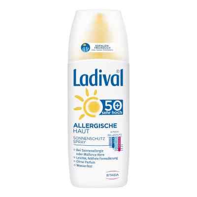 Ladival allergische Haut Spray Lsf 50+  bei apolux.de bestellen