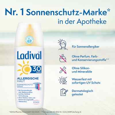 Ladival allergische Haut Spray Lsf 30  bei apolux.de bestellen