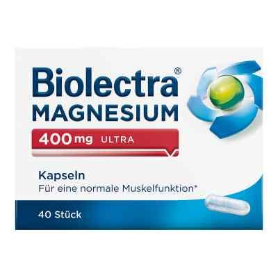 Biolectra Magnesium 400 mg ultra Kapseln  bei apolux.de bestellen