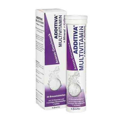 Additiva Multivit.+mineral+coff.ananas R Br.-tabl.  bei apolux.de bestellen
