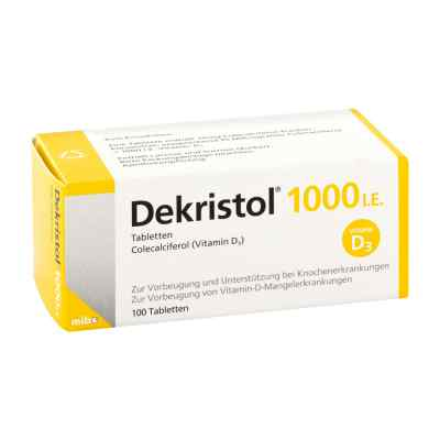 Dekristol 1.000 I.e. Tabletten  bei apolux.de bestellen