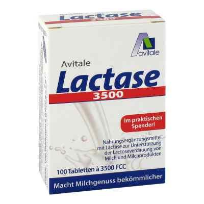 Lactase 3500 Fcc Tabletten im Klickspender  bei apolux.de bestellen