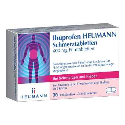 Ibuprofen Heumann Schmerztabletten 400mg  bei apolux.de bestellen