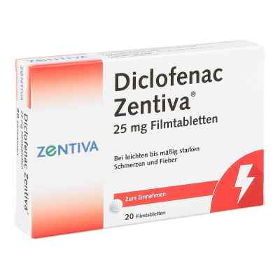 Diclofenac Zentiva 25mg  bei apolux.de bestellen