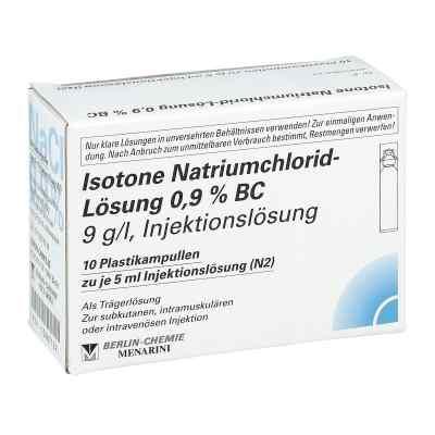 Isotone Nacl Lösung 0.9% Bc Plastik amp.inj.-lsg.  bei apolux.de bestellen