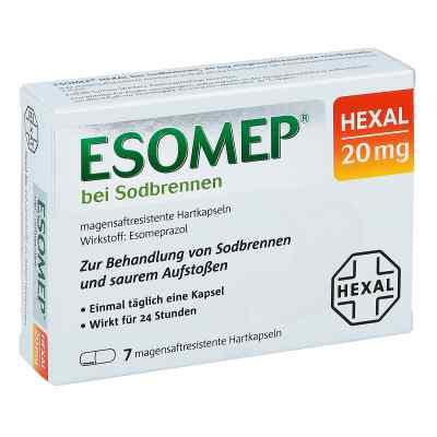 ESOMEP HEXAL bei Sodbrennen 20mg  bei apolux.de bestellen