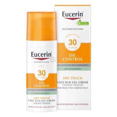 Eucerin Sun Gel-creme Oil Contr.anti-gl.eff.lsf 30  bei apolux.de bestellen
