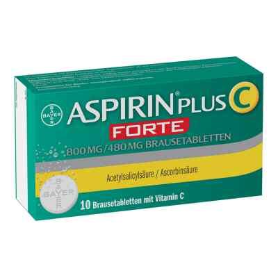 Aspirin plus C Forte 800mg/480mg Brausetabletten  bei apolux.de bestellen