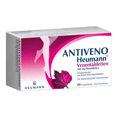 ANTIVENO Heumann Venentabletten  bei apolux.de bestellen