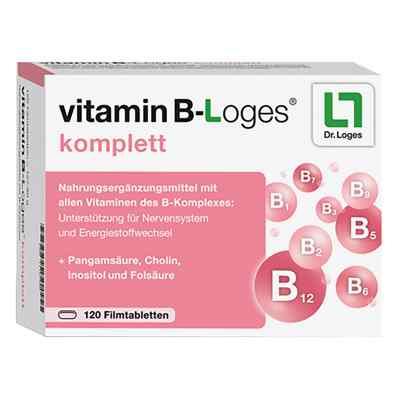Vitamin B-loges komplett Filmtabletten  bei apolux.de bestellen
