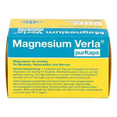 Magnesium Verla purKaps vegane Kapseln zum Einnehmen  bei apolux.de bestellen