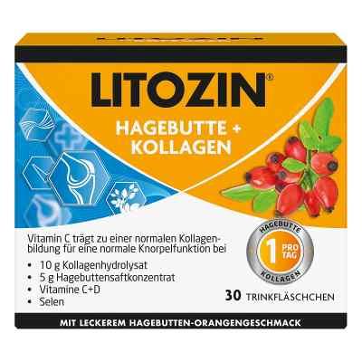 Litozin Hagebutte+kollagen Trinkfläschchen  bei apolux.de bestellen